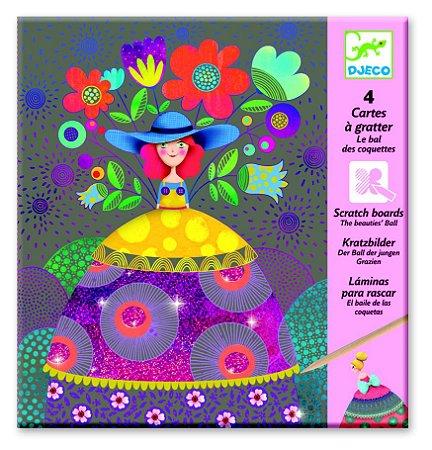 Ilustrações raspadinha - Baile da Bela