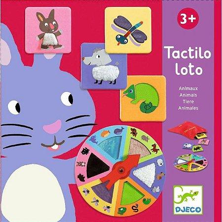 Jogo Loto Tátil - Animais