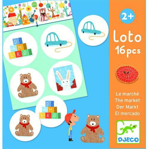 Jogo Loto - No mercado