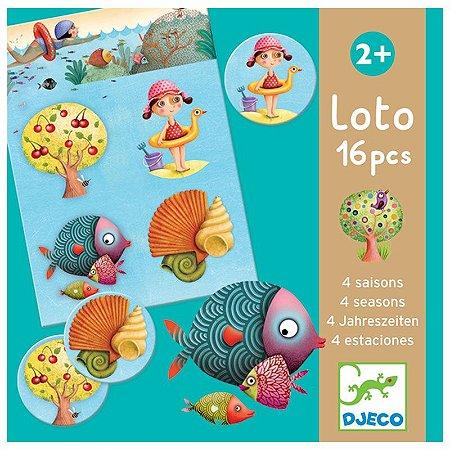 Jogo Loto - As 4 estações