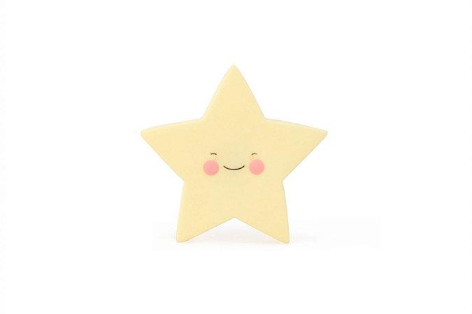 Luminária Estrela Amarela