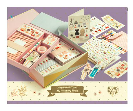 Caixa Kit de Papelaria - Tinou