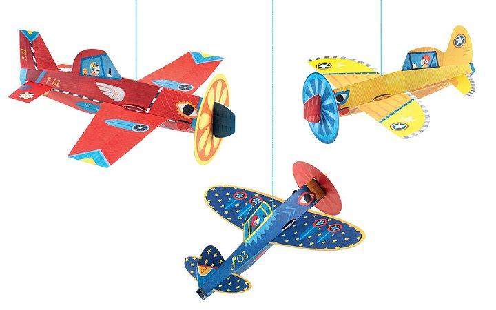 Decoração - Aviões