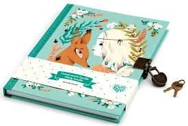 Caderneta Diário Secreto Lucille