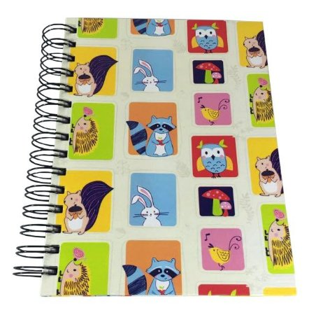 Caderno Woodland Color pequeno