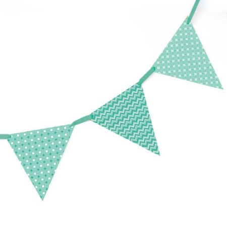 Bandeirola de Papel - verde