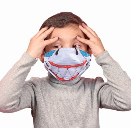 Máscara Kids Tubarão