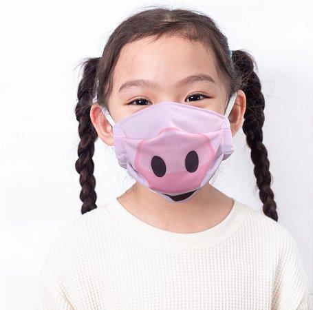 Máscara Kids Porquinho