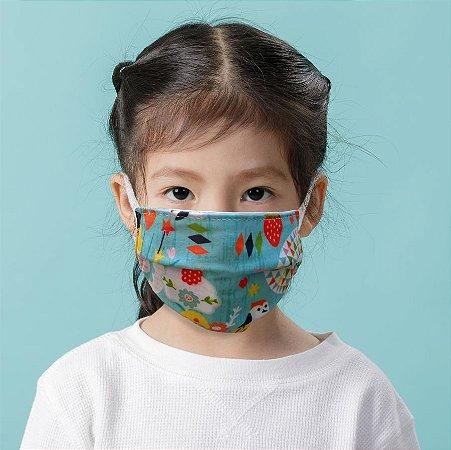 Máscara Kids Jardim