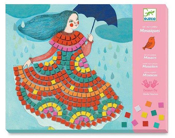 Colagem com Mosaico - Vestidos