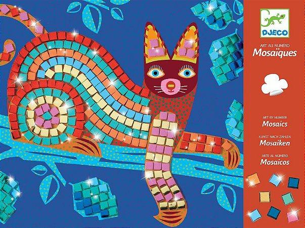 Mosaico - Gato e Tartaruga