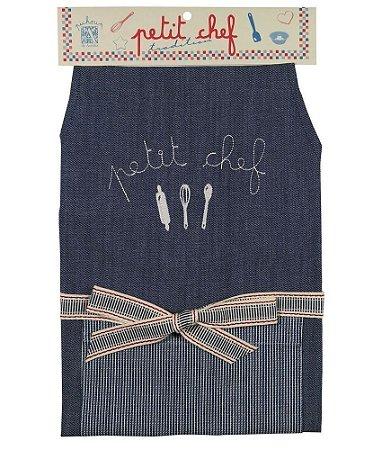 Avental Petit Chef Jeans