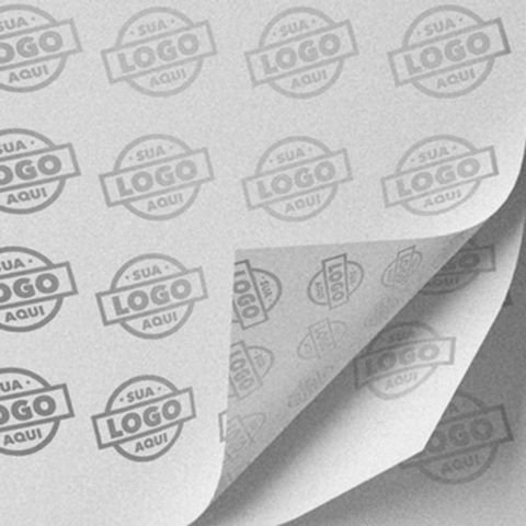 Papel De Seda Personalizado / 25x35 Cm (5600 Unidades)