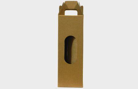 25 Caixas de Papelão 9,5x9,5x27 cm  para 1 garrafa