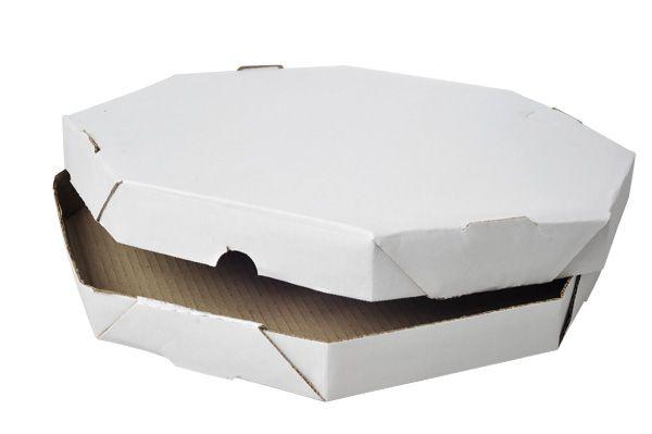 25 Caixas de Papelão oitavada 19x19x4 cm para mini-Pizza
