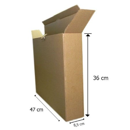 Caixa de Papelão 47x36x8 cm 10 unidades