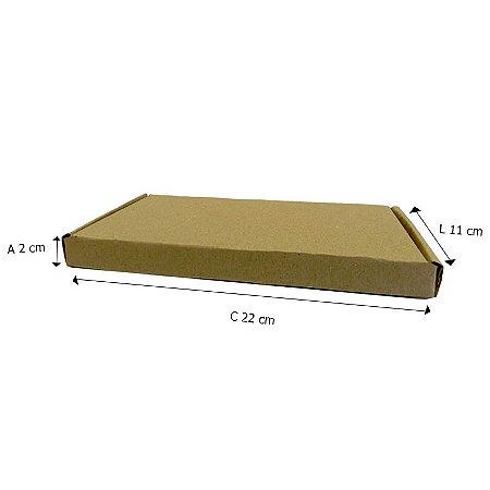 50 Caixas C°4 Tipo Sedex 22x11x2 Cm