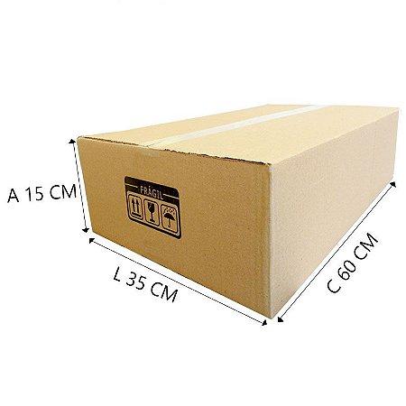10 Caixas de papelão Eº5 60x35x15 cm