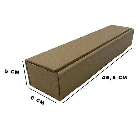 Caixa de Papelão Tubo T°2  8x5x45,5 - 50 unidades