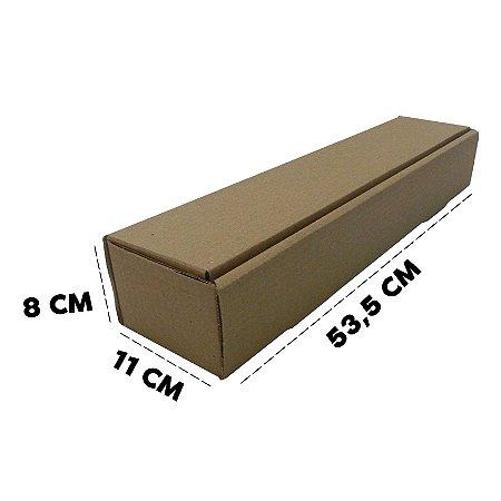 Caixa de Papelão Tubo T4 11x8x53,5 - 50 unidades
