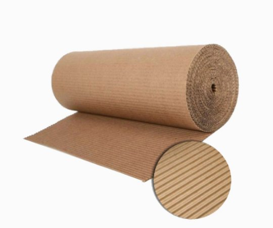 Bobina de papelão ondulado 70 cm - 50 metros
