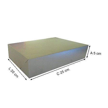 Caixa Para Presente M 25x20x5 Cm - 20 Unidades