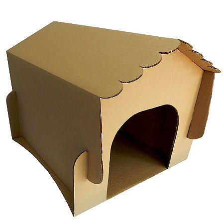 Casa De Cachorro De Papelão