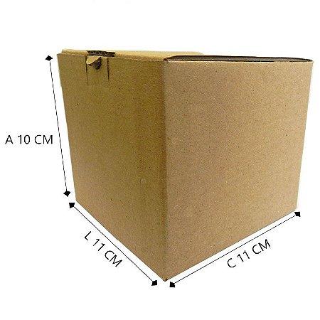 50 Caixas de Papelão P/ Caneca D º10 - 11 X 11 X 10 Cm