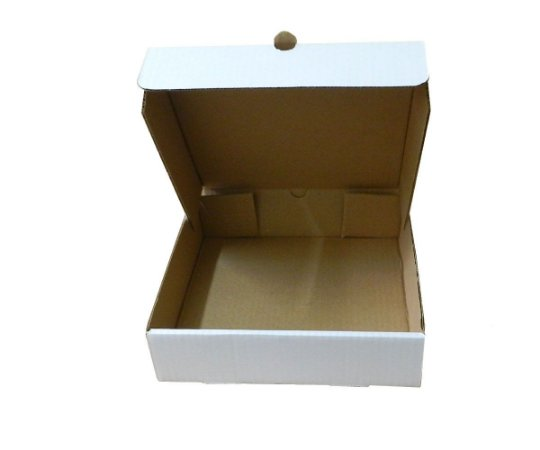 Caixa Para Esfiha Conjugada 24,7x24,7x6,3 cm - 20 unidades