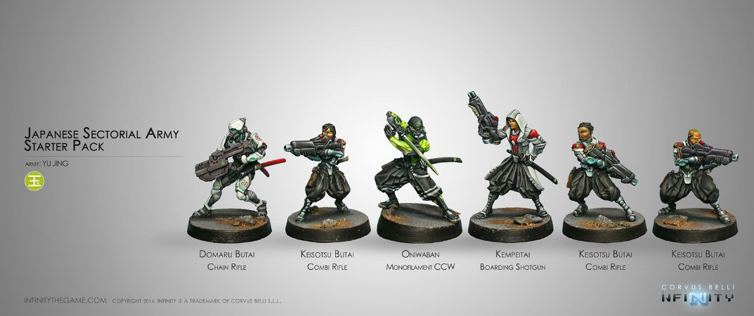 Japanese Sectorial Army - Yu Jing Sectorial Starter Pack