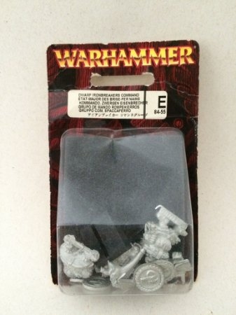 Dwarf Ironbreakers Command
