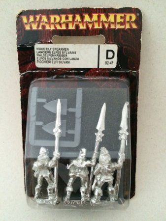 Wood Elf Spearmen
