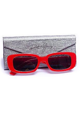 Óculos Winter Face Vermelho