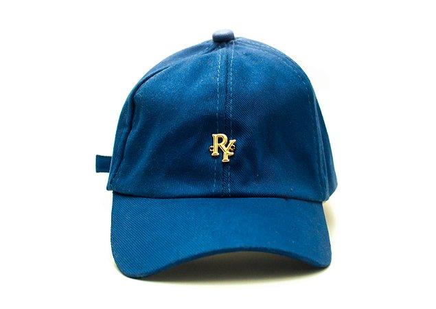Boné Dad Hat Aba Curva Pingente Azul