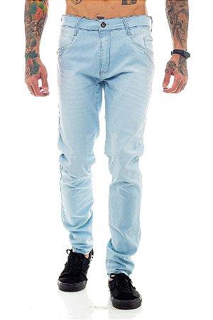 Calça Jeans Básica Azul Clara