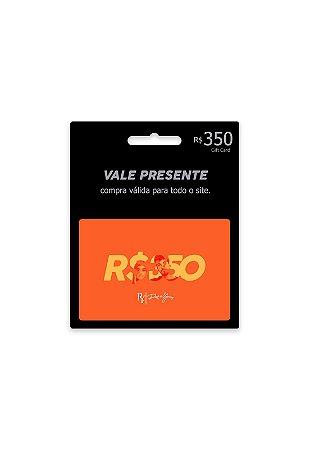 Vale Presente R$350 + Frete Grátis
