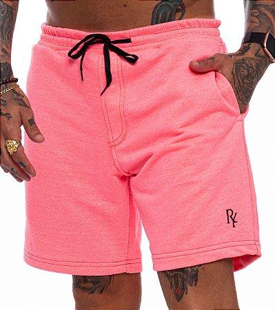 Shorts Superstar Moletinho Masculino Rosa