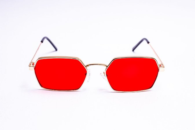 Óculos Superstar Vermelho Red