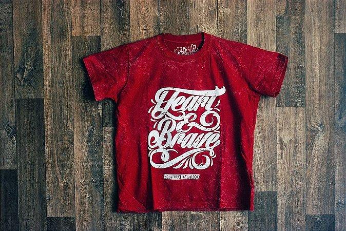 Camiseta Heart & Brave Unissex