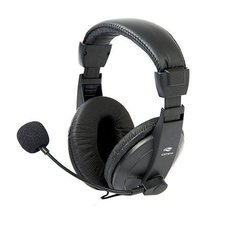 Fone de Ouvido Com Microfone C3tech Ph-60