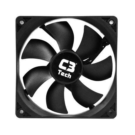 Cooler FAN C3 Tech 8CM F7-MB10BK 3 PINOS