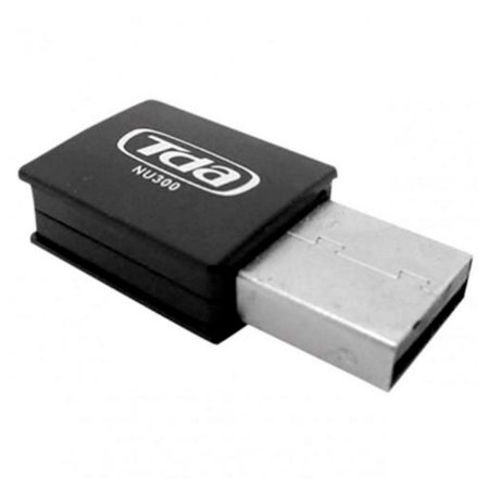 Adaptador Usb Wireless 300Mbps Tda Nano Nu300