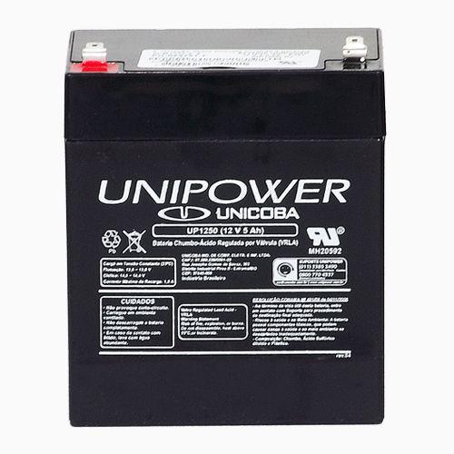 Bateria Nobreak Unipower UP1250 12V 5Ah