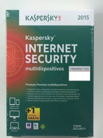 Kaspersky Internet Security Multi-dispositivo 3 Usuários