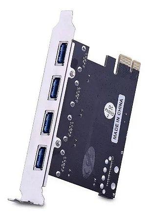 Placa USB PCI-EXPRESS USB 3.0 KP-T102