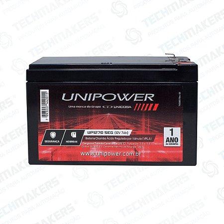 Bateria Selada 12V 7AH Unipower UP1270SEG