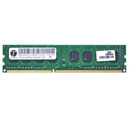 Memória Desktop 4GB DDR3 1600MHz - Teikon