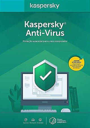 Kaspersky Antivírus 1 PC - 1 ano (Digital)