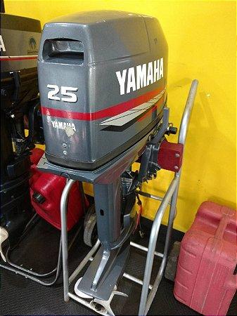 Motor de popa Yamaha 25hp usado ano 2015