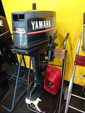 Motor de popa Yamaha 25hp usado ano 1990